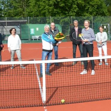 TSV Rethen begrüßt das 200. Mitglied der Tennissparte
