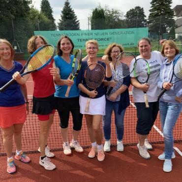 Damen 50 im Finale des TNB Vereinspokals 2021